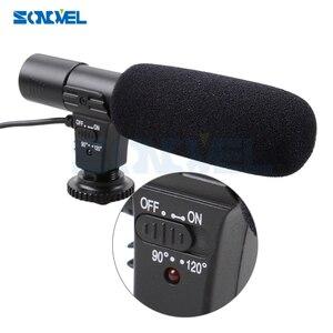 Image 2 - Mic 01 cámara profesional Micrófono estéreo externo para Nikon D7500 D7200 D5600 D5500 D5300 D5200 D3300 D810 D750 D500 D5 D4