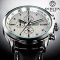 Top Luxury Brand Ochstin Men Sports Watches Men's Quartz Date Leather Army Military Wrist Watch Relogio Masculino Clock Man