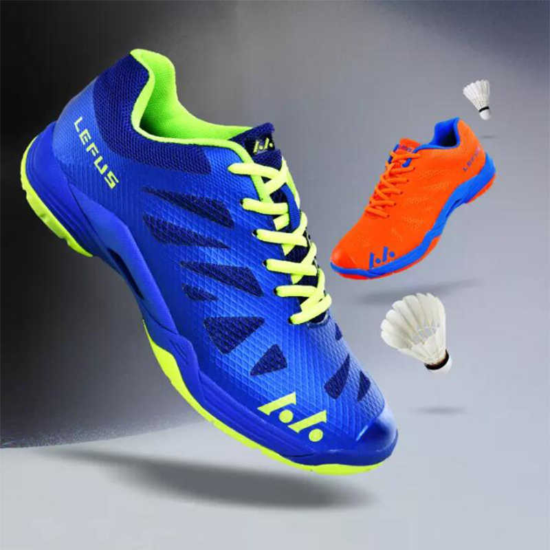 2019 New Men Women Badminton Shoes Light Breathable Professional Training Shoes Boy Gril Non-slip Sports Sneakers
