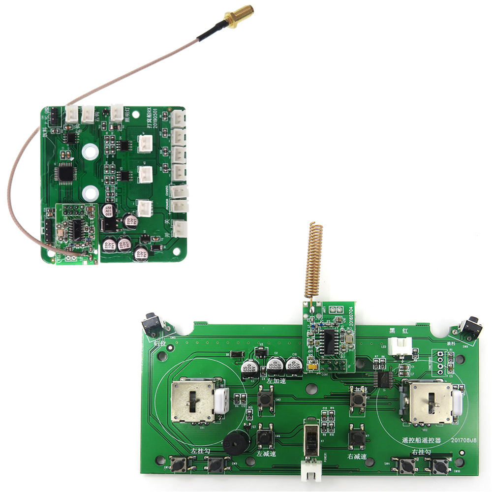 Flytec 2011-5 Fishing Bait Boat Spare Parts Accessories Circuit Board Remote Control Circuit Board for 2011-5 Bait BoatFlytec 2011-5 Fishing Bait Boat Spare Parts Accessories Circuit Board Remote Control Circuit Board for 2011-5 Bait Boat