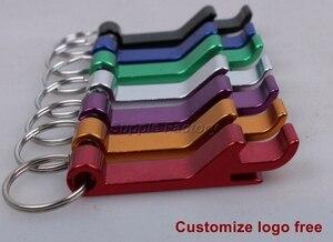 Image 5 - Abridor de garrafas logotipo impresso personalizado, chaveiro de metal e liga de alumínio com impressão personalizada, 200, pçs/lote