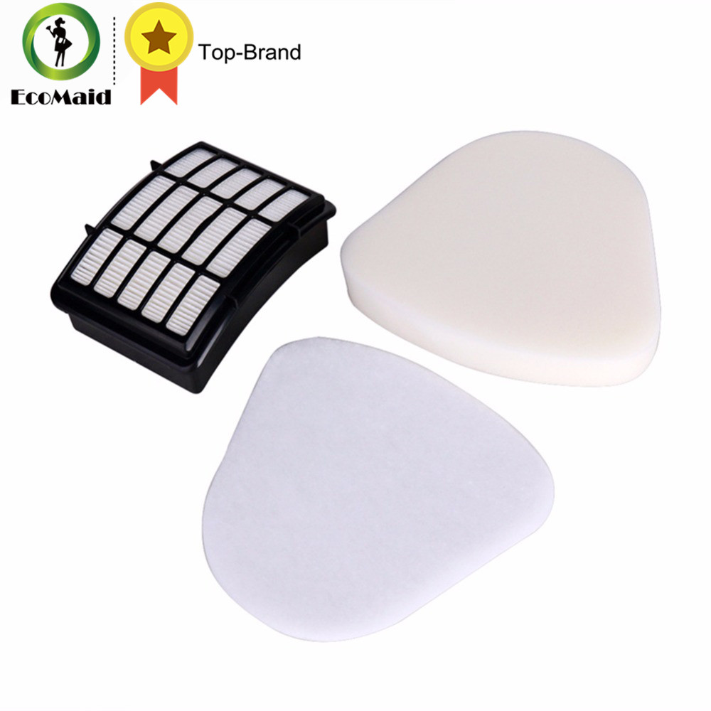 HEPA Filter Foam Kit for Shark Vacuum Cleaner Nv350 Nv351 Nv352, Nv355 Pre-filter Foam and Felt for Shark Part Xff350 Xhf350 vacuum cleaner hepa filter gy308 gy309 gy406 gy 408 129x148mm