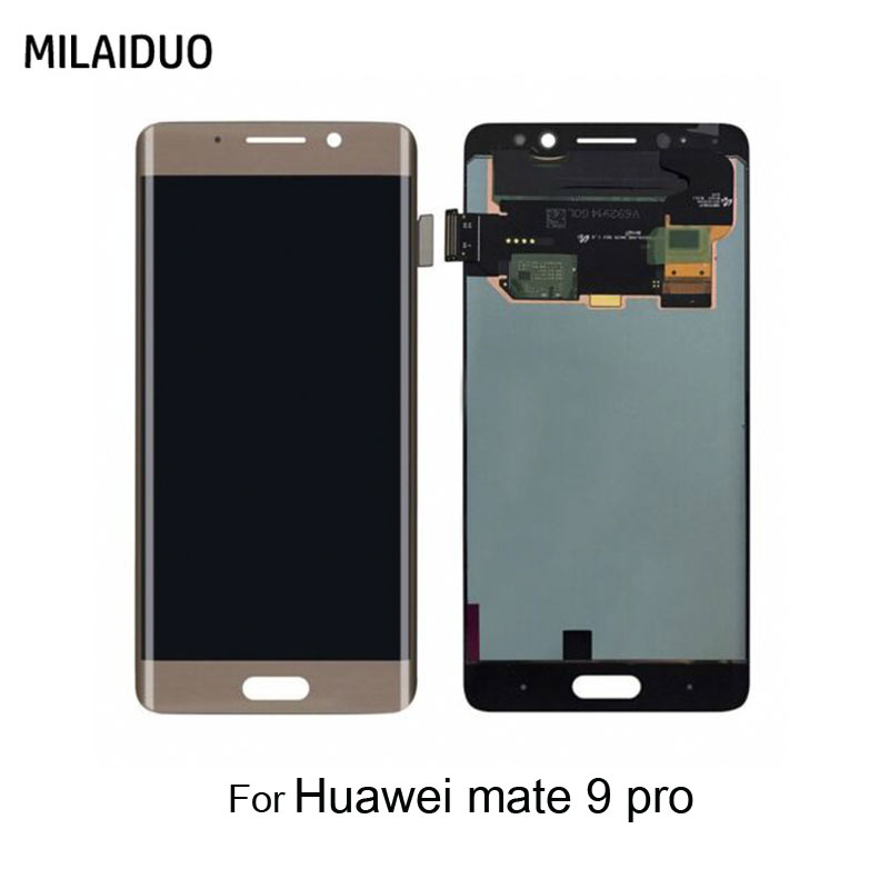 LCD Display For Huawei Mate 9 Pro LCD Touch Screen Digitizer With Frame Assembly Replacement GoldLCD Display For Huawei Mate 9 Pro LCD Touch Screen Digitizer With Frame Assembly Replacement Gold