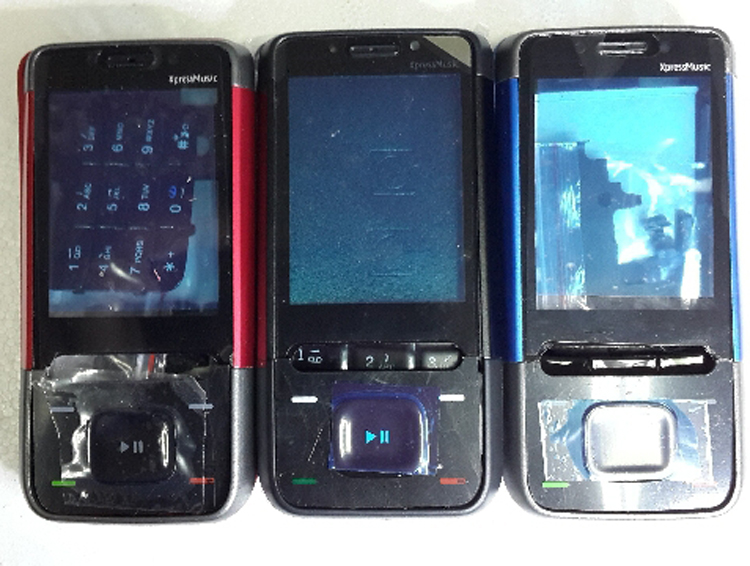 Nokia 5610 Xpress Music disassembly, screen replacement and repair