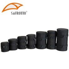 Safrotto фотографические аксессуары DSLR камера сумка объектив камеры Чехол черный противоударный Чехлы для Canon Nikon sony