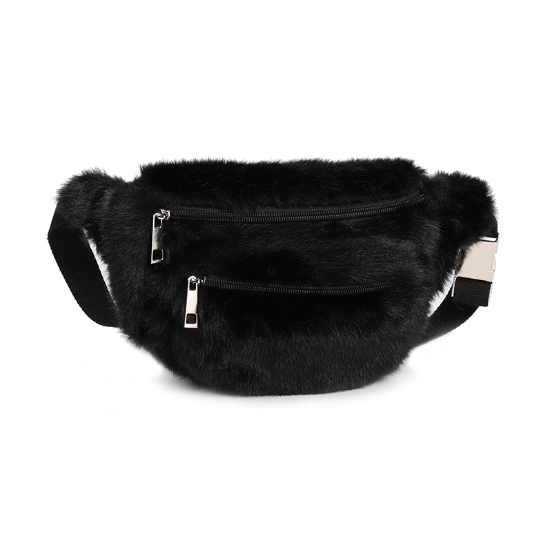 Arpimala Women Faux Fur Pack White Black Chest Bag Small Waist For Uni Luxury Fashion Per Handbags In Packs From Luggage