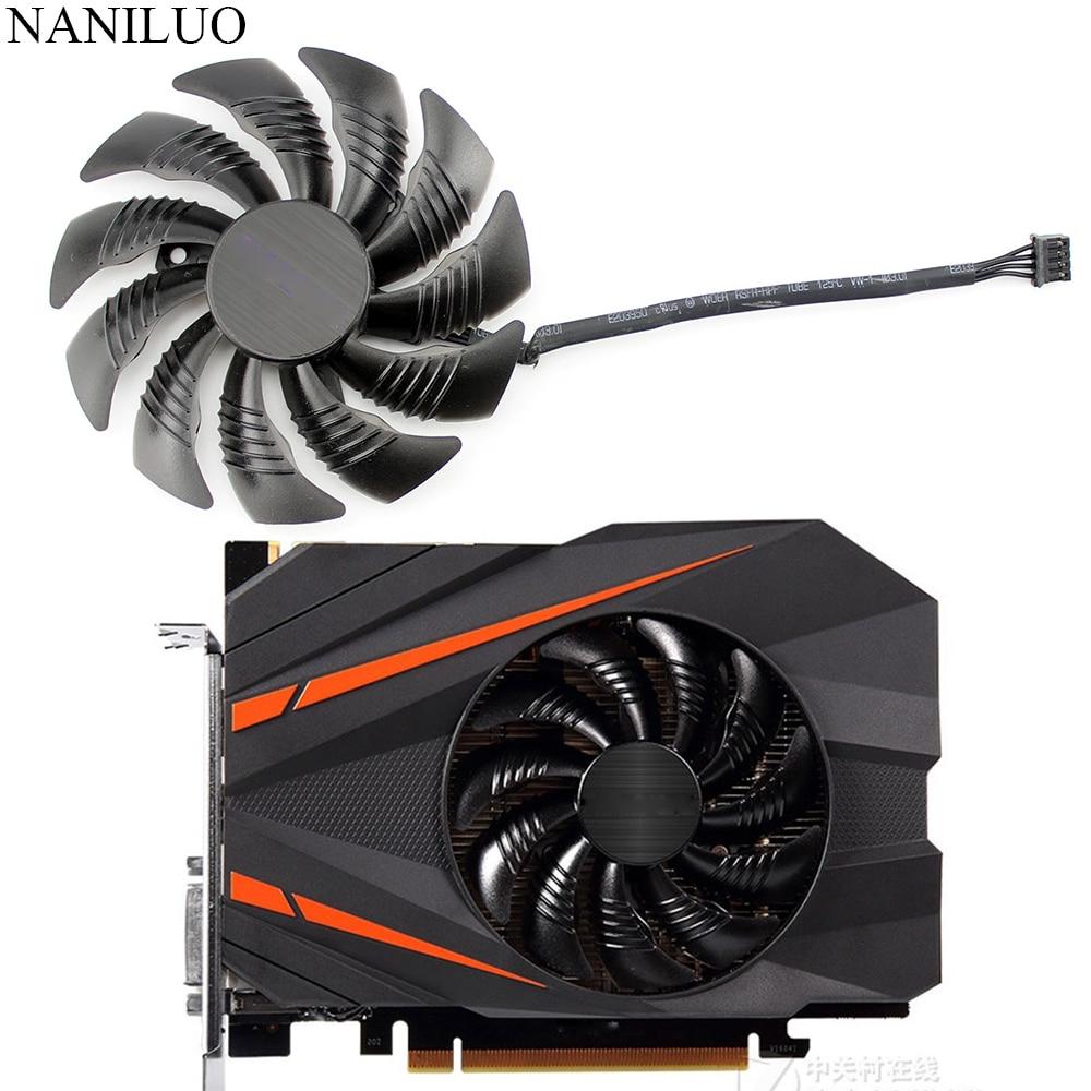 T129215SU 88MM PLD09210S12HH Fan Replace For Gigabyte Geforce GTX 1080 GTX1070 1060  1050 Ti Fan Mini ITX G1 Radeon Gaming Fan