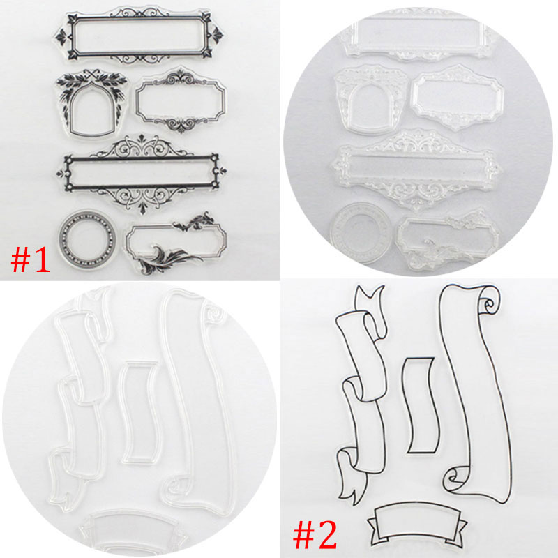 Clear Rubber Stamp Transparent Stamp DIY Scrapbooking Christmas Card Making Decoration Supplies Hot Sale