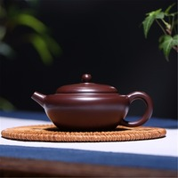 180mL Yixing Zisha Teapot Handmade Chinese Kung Fu Tea Set Ceramic Teapots purple clay tea pot tea boiling water Kettle Gift Box