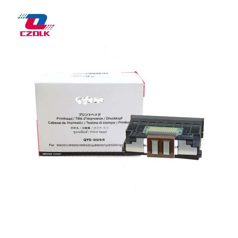 Original QY6-0055 printhead for Canon 9900i i9900 i9950 iP8600 iP8500 iP9100 print head remanufactured qy6 0076 printhead print head printer head for canon pixus 9900i i9900 i9950 ip8600 ip8500 ip9910 pro9000 mark ii