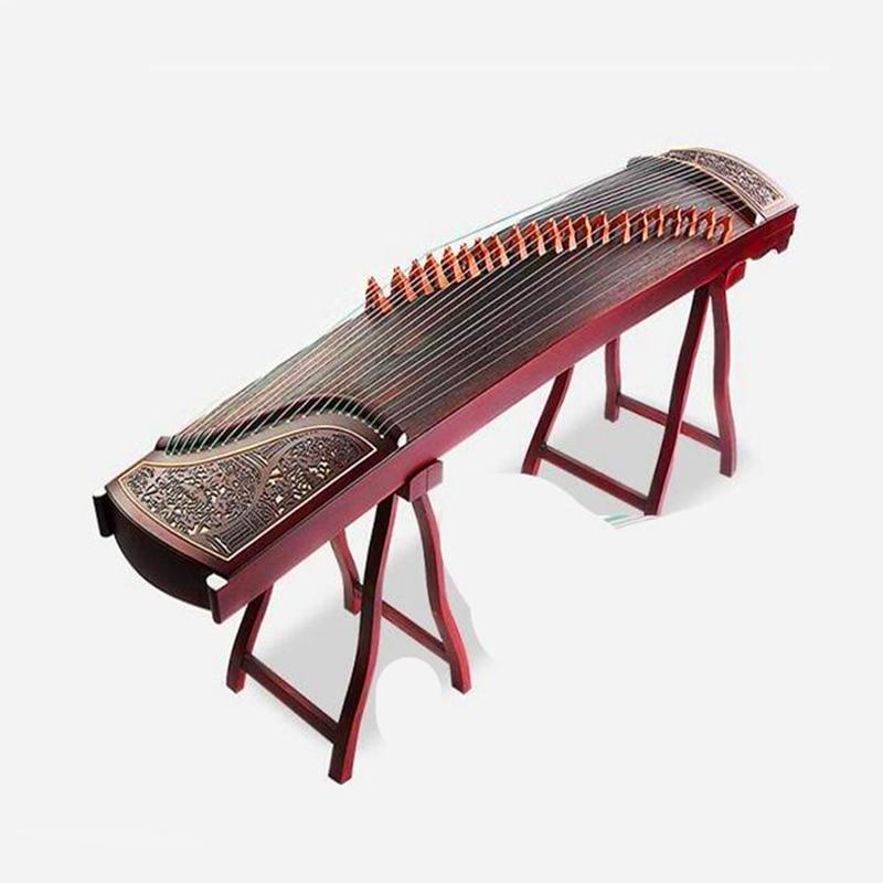Chine Guzheng instruments de musique professionnels cithare creusant des instruments à cordes Guzheng accessoires pour étude de débutant