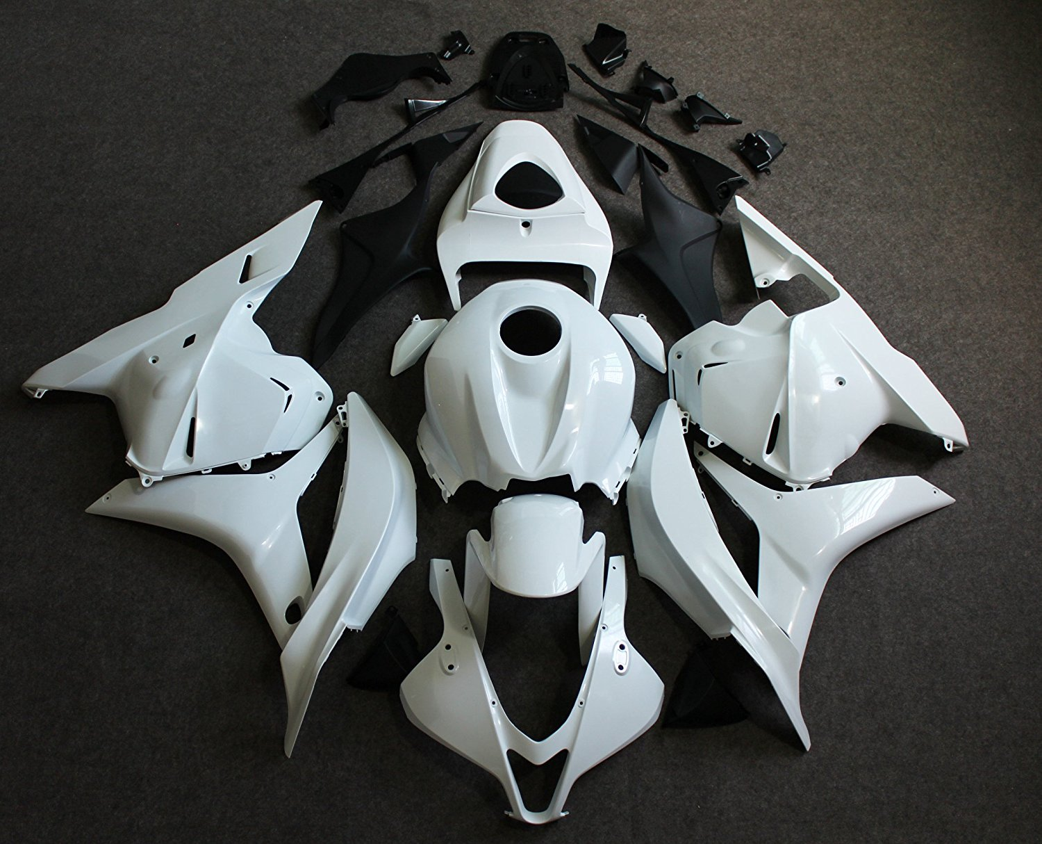 ABS Unpainted Fairing Kit for Honda CBR 600 RR CBR600RR F5 2009 2010 CBR600 RR CBR 600RR 09 10 Motorcycle Injection Fairings Set unpainted tail fairing kit rear for honda cbr600rr cbr 600 rr 2003 2004 cbr600 cbr 600rr 03 04 motorcycle frame injection mold