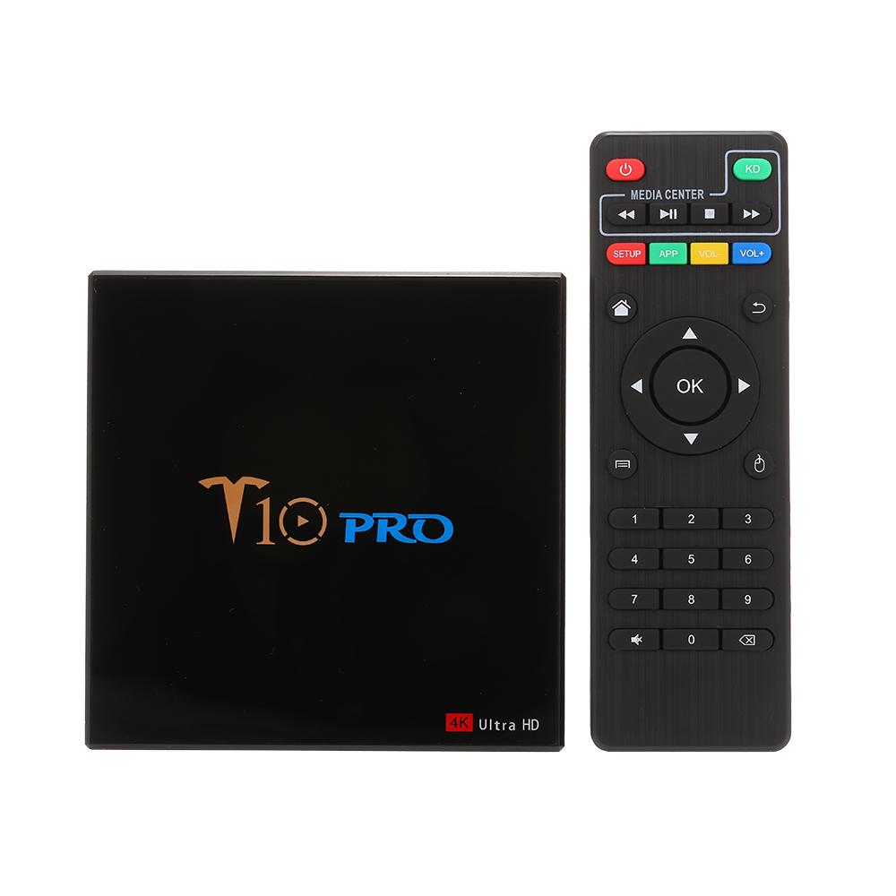 docooler T10 PRO Android 8 1 TV Box Cortex A53 S905X2 Quad core 4K Smart tv