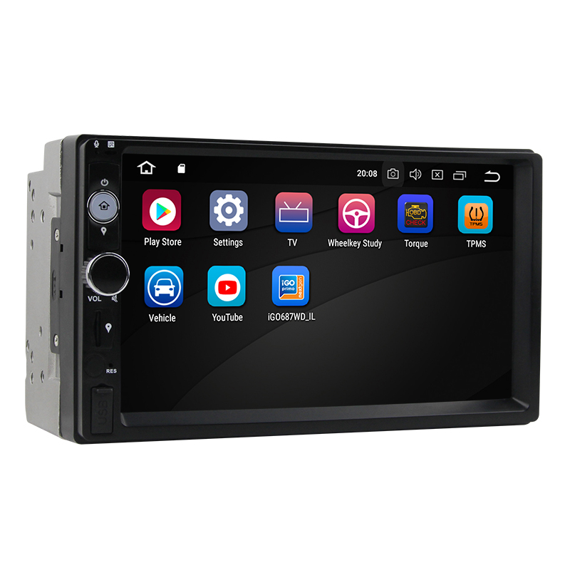 US $279 99 |STAPON universal 4GRAM+32G ROM Android 8 0 car multimedia DVD  7inch PX5 Octa core with DAB OBD2 RDS ST3-in Car CD Player from Automobiles