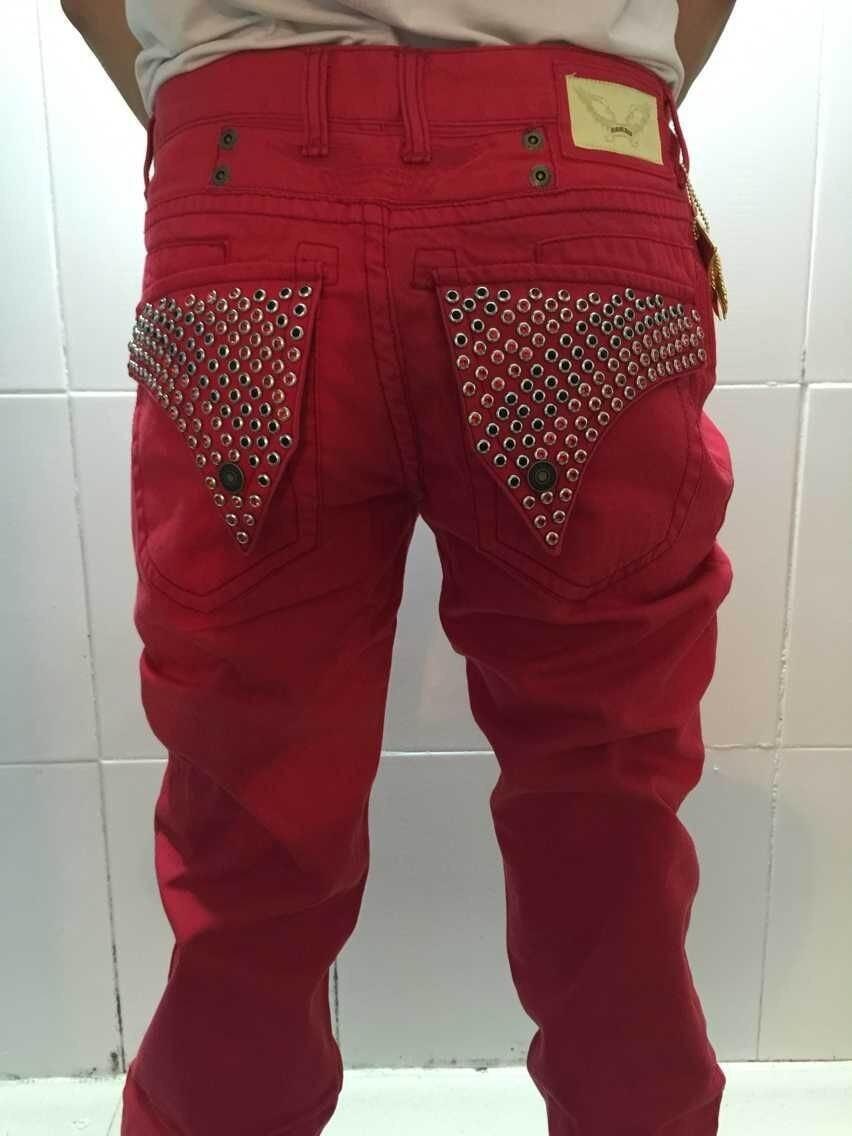 Aliexpress.com : Buy 2015 New denim pants famous brand red robin ...