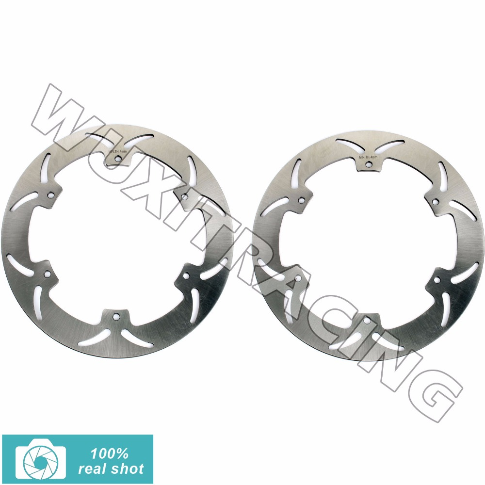 BIKINGBOY Motorcycle 320mm 1 Pair Front Brake Discs Rotors for YAMAHA XJ 900 S XJ900S DIVERSION 94-03 02 01 00 99 98 97 96 95 suburban 94 99 blazer 94 tahoe 95 99 signal marker reflector light upper pair
