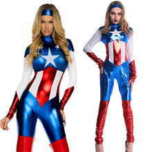 2017 American Superhero Adult muscle clothing children's captain America cosplay iron man thor ant people show fashion costume