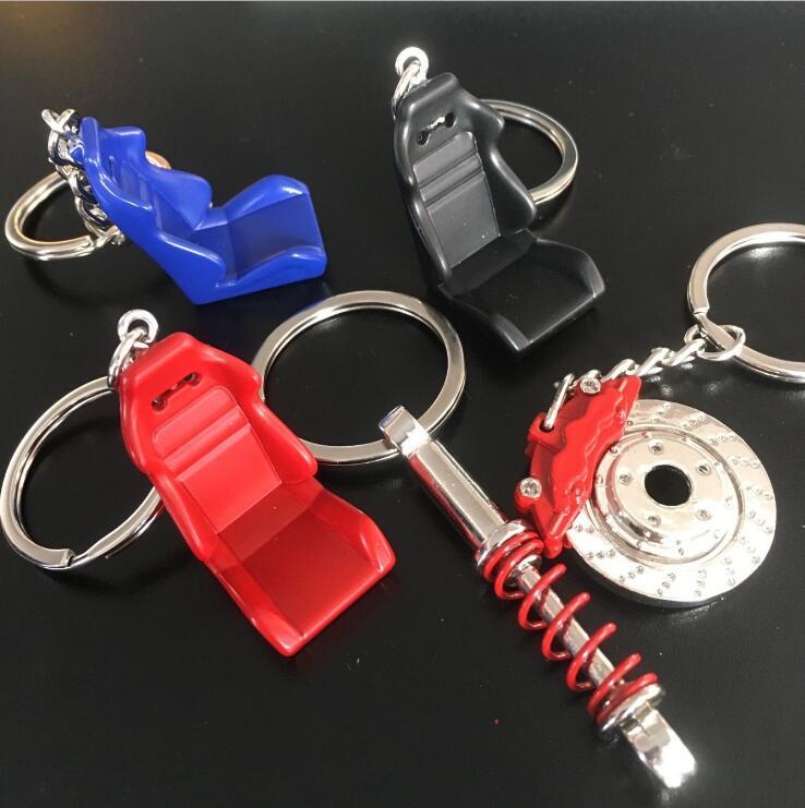 Genereus 1 Pc Zink Legering Auto Auto Metal Mini Seat Sleutelhanger Sleutelhanger Auto Accessoires Zetel Stoel Sleutelhanger Pure En Milde Smaak