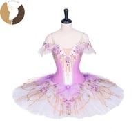 FLTOTURE AT1293 Classical Ballet Pancake Fairy Costumes For Ballet Performance Professional Ballet Nutcracker Tutu For Sale