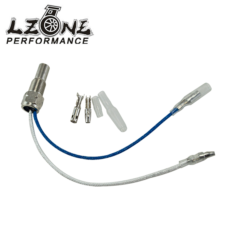 LZONE - Water Temperature Oil temperature sensor temp sender temp sensor Auto Gauge Car Meter Sensor Sender Unit 1/8 NPT 1/8