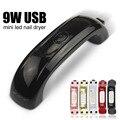 9W Mini USB LED UV Lamp For Curing Nail Gel Polish LED Rainbow Nail Dryer Lamp For Nails Art Tools