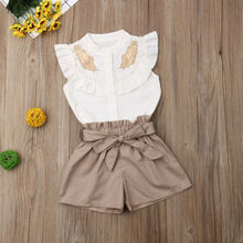 Baby Girl Jumpsuits Shorts Outfit Set