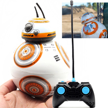 BB 8 Star Wars 7 RC BB-8 Droid Robot 2.4G Remote Control BB8 Iron Man Action Figure Robot Intelligent Ball Toys