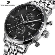 Pagani design 탑 럭셔리 브랜드 방수 쿼츠 시계 남자 스테인레스 스틸 패션 시계 스포츠 남자 시계 relogios masculino