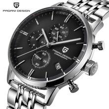 Pagani design topo marca de luxo relógio de quartzo à prova dwaterproof água relógio de aço inoxidável masculino relógio de moda relógio esportivo masculino