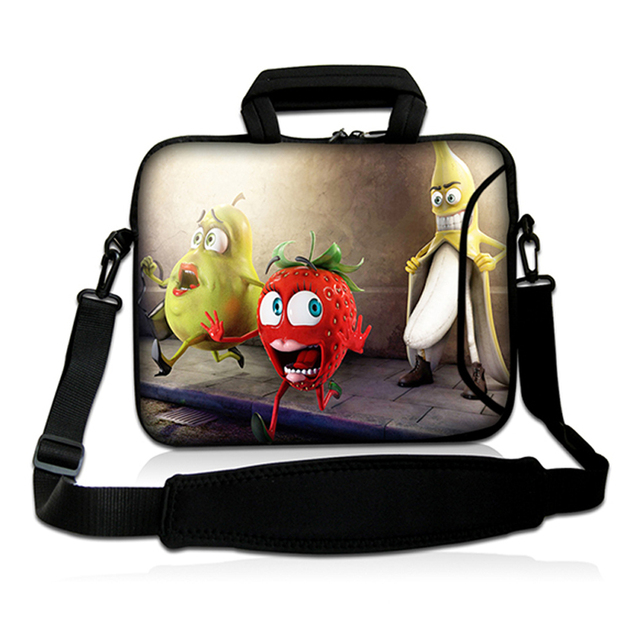 2016 Hot Gift Bag Zipper 14.4 14.2 14.1 14inch Laptop Notebook Messener Carry Bag Computer Shoulder Strap Carry Bags Cases Cover