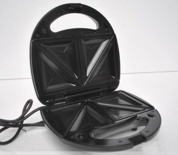 ¡Caliente! Seguridad de temperatura ajustable control Sandwich Maker 220V eléctrica máquina de gofres de electrodomésticos de cocina herramientas - 6