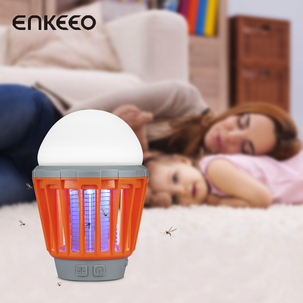 Mosquito Repeller Power Saver Circuit Enkeeo Zapper Lamp Lantern Killer Electronic Multi Functional Outdoor Camping Pest Repellent Rechargeable In Repellents From Home Garden