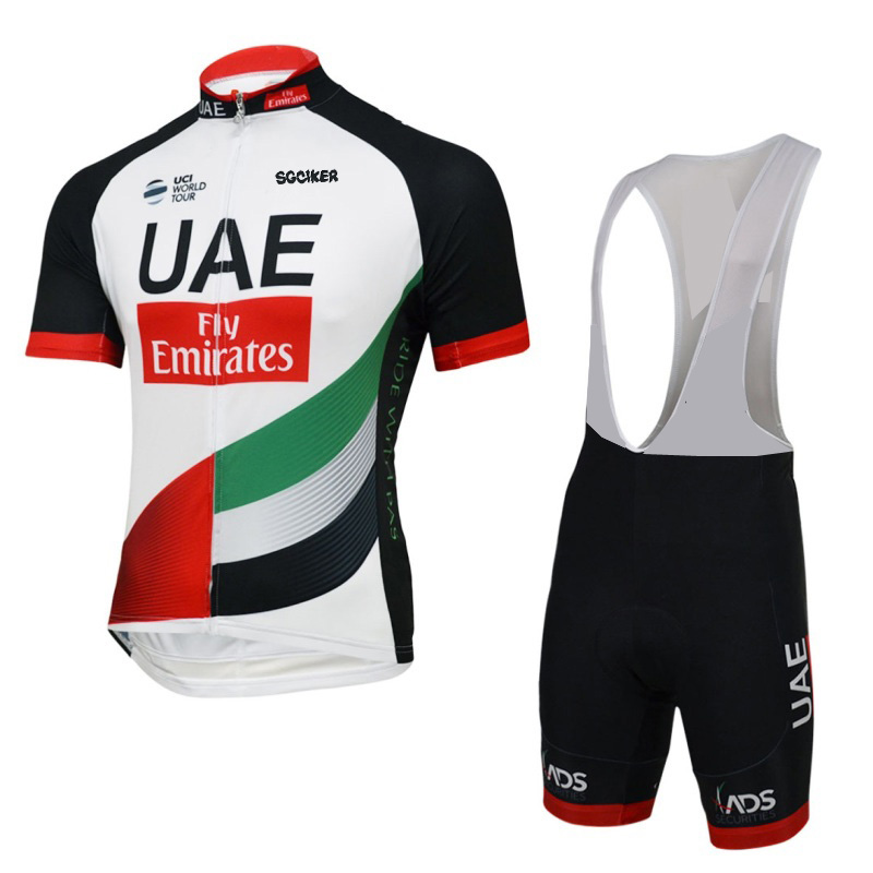 2017 uci team UAE fly Emirates cycling jersey kit summer Short sleeve quick dry cloth MTB Ropa Ciclismo Bicycle maillot GEL pad 2017 pro team orica cycling jerseys bicycle maillot breathable mtb short sleeve ropa ciclismo quick dry bike cloth 3d gel