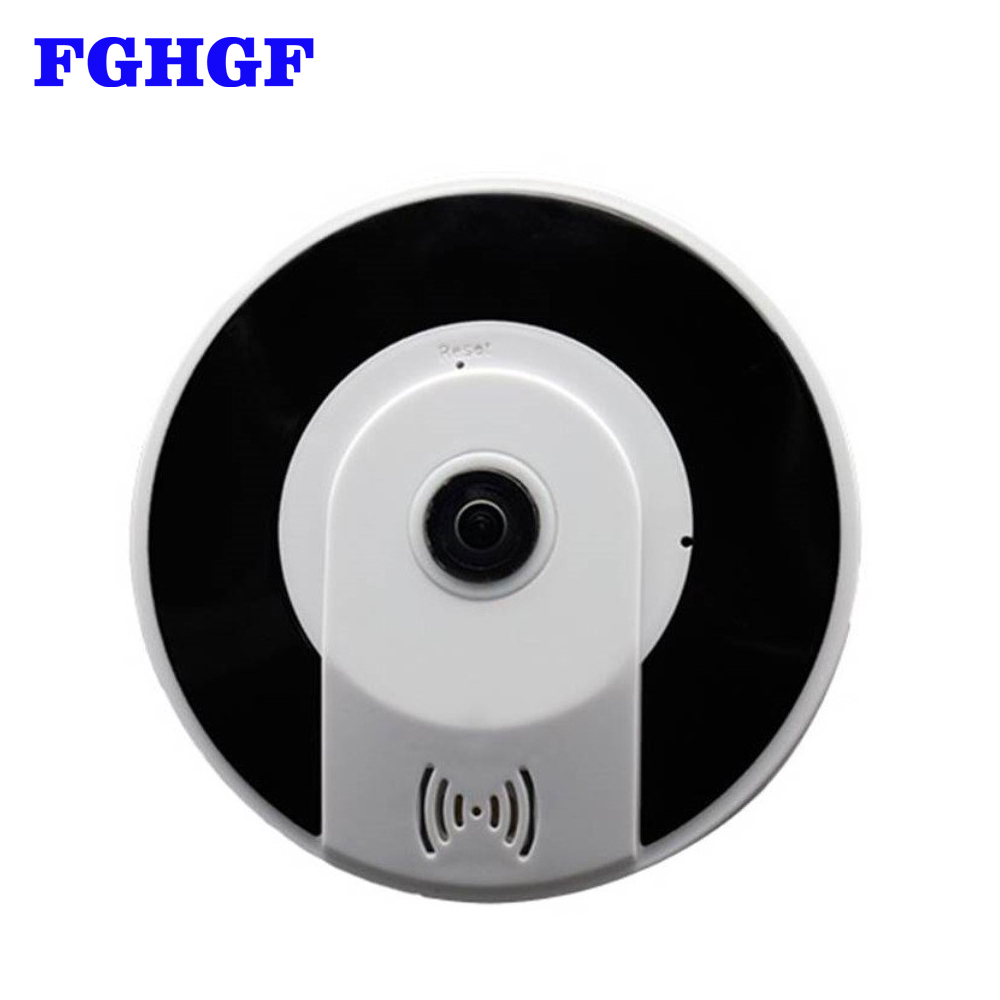 FGHGF Nouveau Style 3D-V380 Mini 360 Degrés Panoramique Sans Fil Wifi IP Fisheye Caméra Deux-Audio 960 p HD sans fil caméra de sécurité