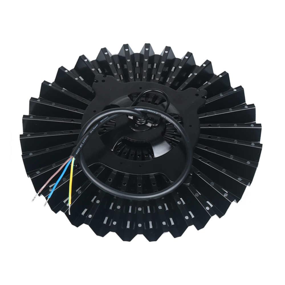 Светодиодный светильник НЛО IP40 Модернизированный светильник для цеха 50 Вт 100 Вт 150 Вт 200 Вт промышленный завод склад промышленное освещение