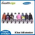 Original innokin iclear 16b iclear clearomizer 2.4 ml doble bobina innokin atomizadores para cigarrillo electrónico