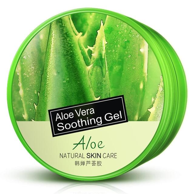 HOT HOREC Natural Aloe Vera Smooth Gel Acne Treatment Face Cream for Hydrating Moist Skin Repair After Sun Facial Cream Brighten