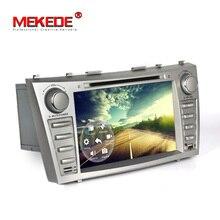 Darmowa dostawa! Nawigator GPS samochodów odtwarzacz DVD dla Toyota CAMRY 2007-2011 Andorid7.1 Quad-Core Systemu Bezpłatne 8G mapie karty