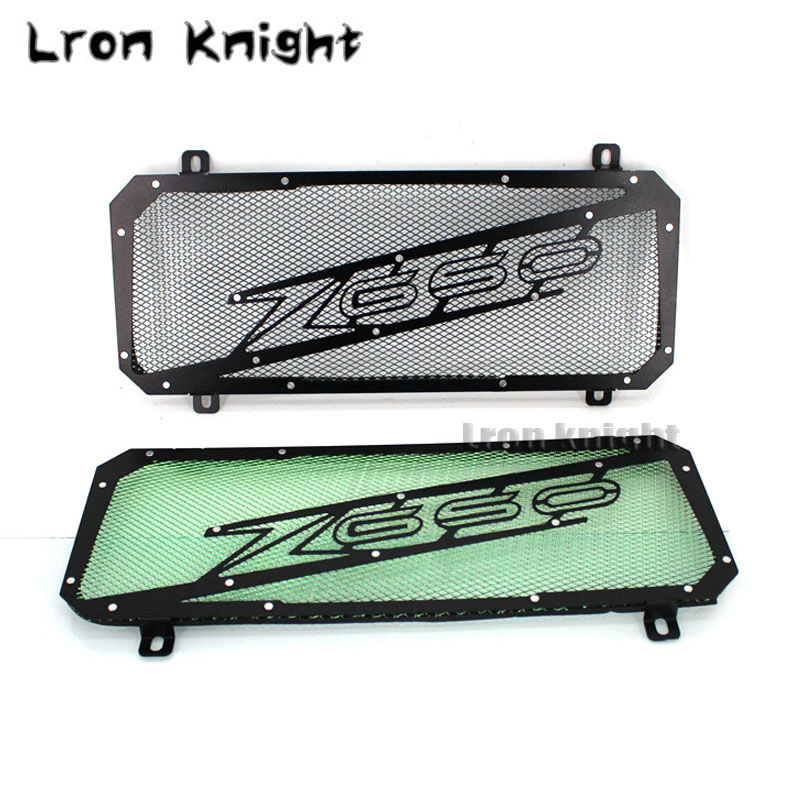 For KAWASAKI Z650 Z 650 2017 2018 Motorcycle Accessories Radiator Grille Cover Guard Stainless Steel Protection Moto ProtetorFor KAWASAKI Z650 Z 650 2017 2018 Motorcycle Accessories Radiator Grille Cover Guard Stainless Steel Protection Moto Protetor