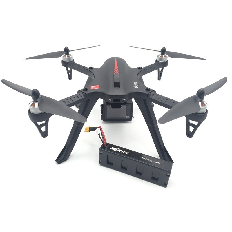 MJX Bugs 3 B3 RC Quadcopter Brushless Motor 2.4G 6-Axis Gyro Drone With H9R 4K Camera Professional Dron Helicopter-Black mjx bugs 3 b3 rc quadcopter brushless motor 2 4g 6 axis gyro drone with h9r 4k camera professional drone helicopter black