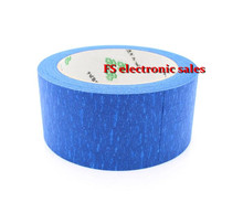 50MM X 30M Blue Painters Tape/ 3D Printer Heat Tape Resistant High Temperature Polyimide Adhesive Tape ,MakerBot Replicator2