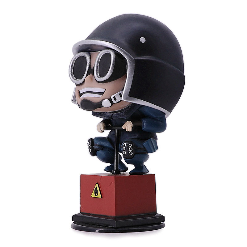 Image 4 - Rainbow Six Siege 10cm figure toys Thermite Action Figure Hot Toys Desktop Decor christmas gift-in Action & Toy Figures from Toys & Hobbies
