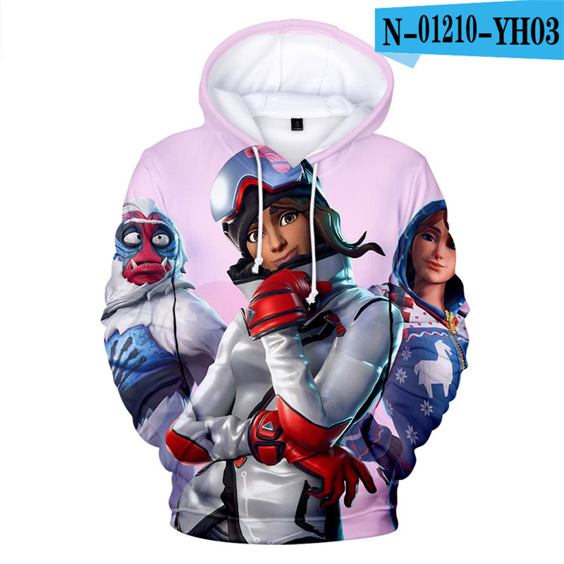 Fortniter Battle Royale Hoodie Battle Royale Children Clothing Fortnight Children Women Clothing Game Kid Clothes Game Clothes