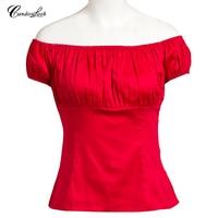 Wholesale Christmas plus size white black blouse sexy short sleeve print vintage style casual ladies blouse women clothing