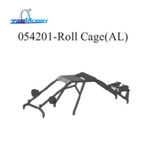 HSP ORIGINAL SPARE PART ACCESSORIES UPGRADE PARTS ALUMINUM POLISHED EXHAUST PIPE AND ROLL CAGE 054201 FOR 94054