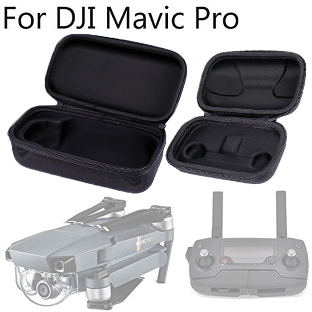 For DJI Mavic Pro EVA Portable Hardshell Transmitter Controller Storage Box +...