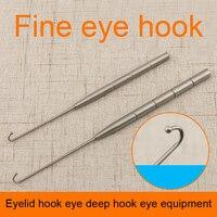 جفن هوك هوك العين العين العميق معدات عالية الجودة المقاوم للصدأ الصلبة هوك رئيس واحد مزدوج مخلب سؤال علامة ضام