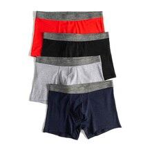 Cotton mens underwear stretch Soft Comfortable Underpants Boxers male men boxer 3356