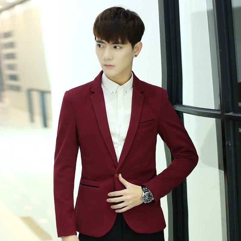 2019 Plus Größe 6xl Männlichen Blazer Herren Mantel Hochzeit Kleid Herren Koreanischen Slim Fit Mode Baumwolle Blazer Anzug Jacke Schwarz Blau Beige