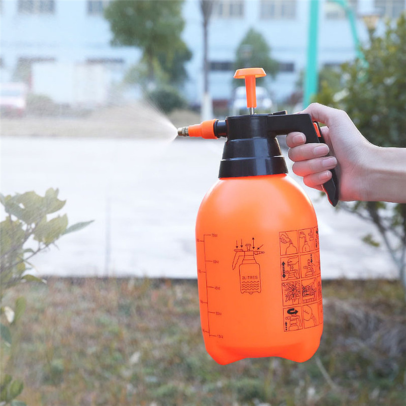 Populair Merk Water Fles 2l Plant Bloem Gieter Spray Fles Water Tuin Mister Sproeier Kappers Tuin Tool #3a09 Groot Assortiment